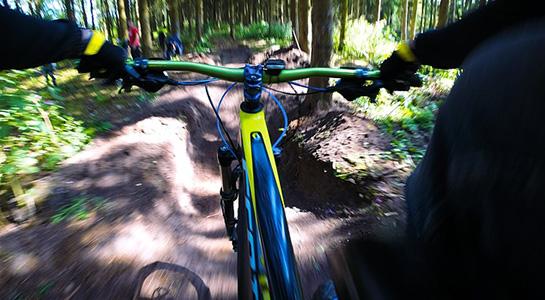 Bicicleta de montaña en Parque Ecoturístico Los Arcos Saucillo