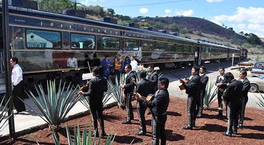 Tren turístico Tequila Express
