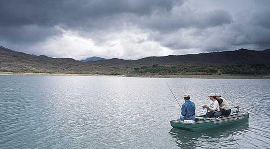 Pesca deportiva en Río Jalpan