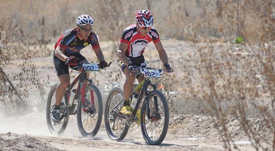 Ciclismo en la presa Francisco Zarco