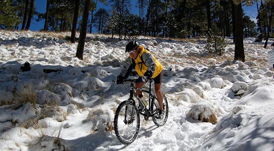 Ciclismo de montaña en Nevado de Toluca