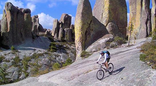 Ciclismo de montaña Parque de Aventuras Barrancas del Cobre